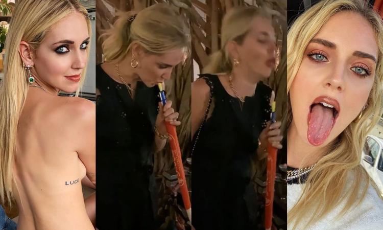 Chiara Ferragni fuma il narghilé e... guardate che effetto le fa! VIDEO e FOTO