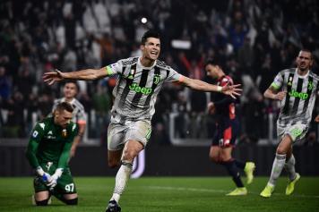 Cristiano.Ronaldo.Juve.esultanza.urlo.quarta.maglia.2019.20.jpg GETTY IMAGES