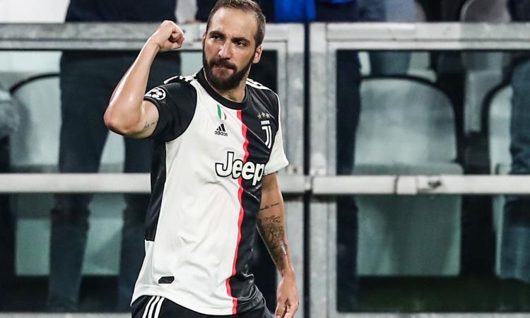 Higuain: 'Sogno la Champions con la Juve. Sarri testardo, ma sa tirare fuori il meglio da me'