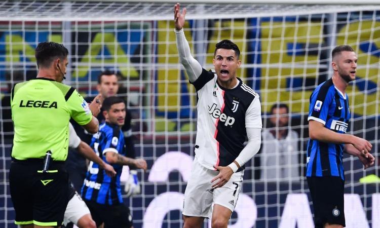 Inter-Juve: parla Bonucci, arriva CR7 e... VIDEO