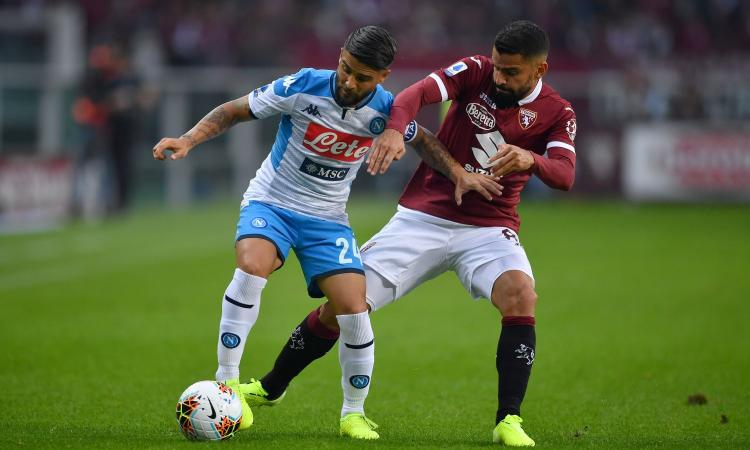Torino-Napoli 0-0: il tabellino