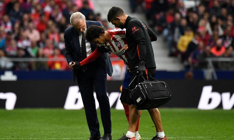 Atletico, UFFICIALE: infortunio alla caviglia per Joao Felix. In vista della Juve...