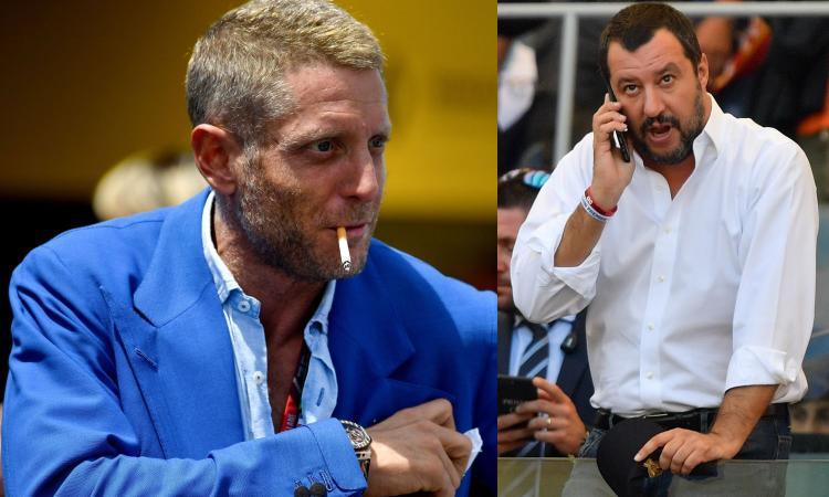 Lapo Elkann attacca Salvini sul tema migranti. La replica dell'ex ministro: 'Stupefacente'