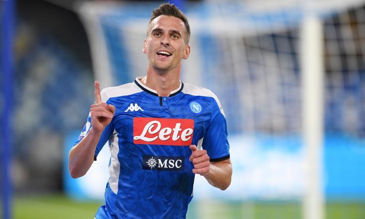 Napoli, 2-0 al Verona nel segno di Milik