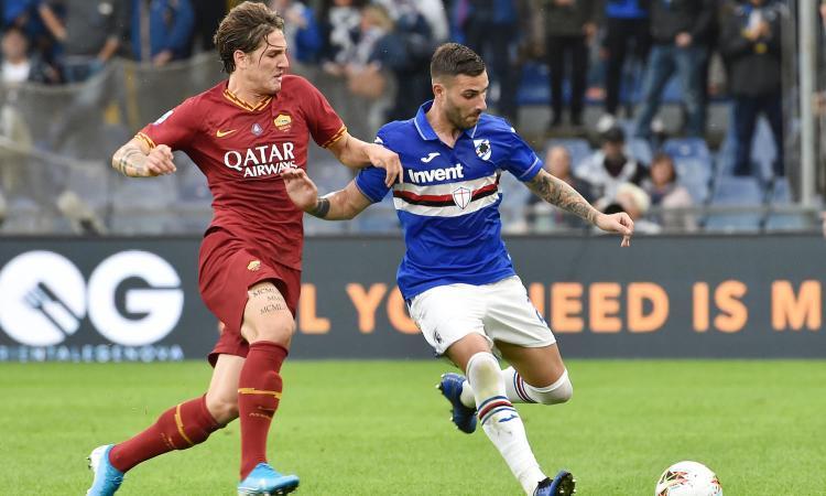 Sampdoria-Roma 0-0: il tabellino