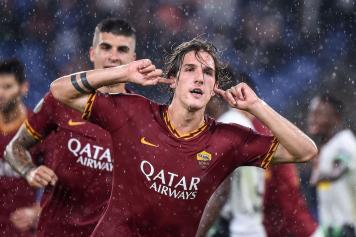 Zaniolo Roma esultanza polemica Mancini