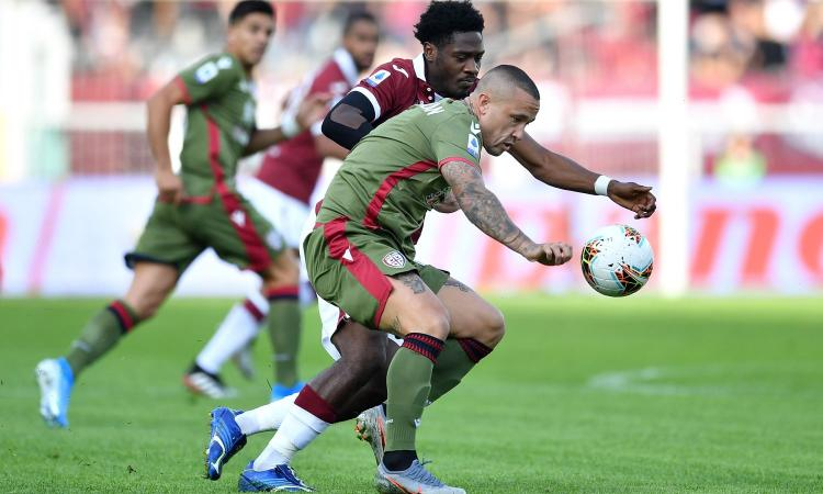 Torino: due squadre su Aina