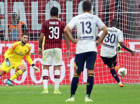 Pioli non ha guarito il Milan: col Lecce è solo 2-2