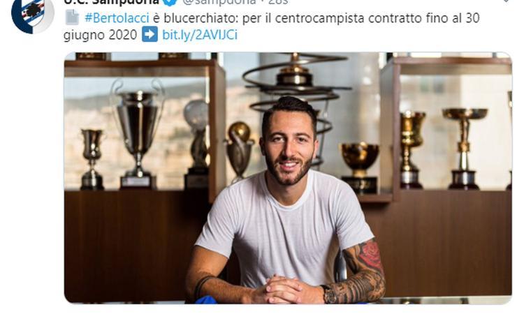 Sampdoria, Bertolacci: 'Il Milan nell'ultima stagione voleva tenermi a tutti i costi. Il Genoa...'