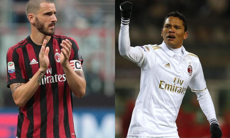 Milan in rosso da 7 anni: da Bonucci a Bacca e Conti, i 10 acquisti più costosi