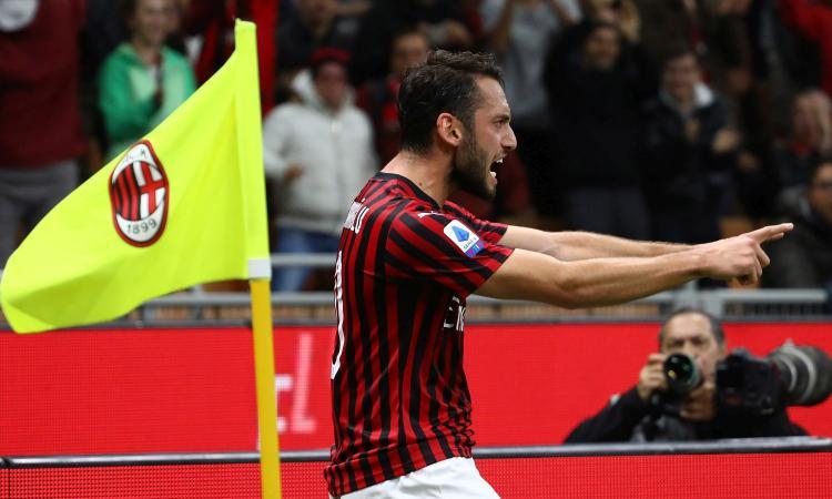 Milan, risposta secca al Galatasaray per Calhanoglu