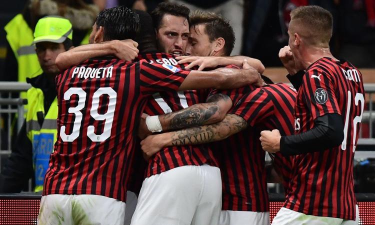 Parma-Milan 0-1: il tabellino