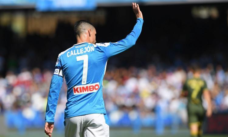 Napoli, l'agente di Callejon chiede un incontro a De Laurentiis