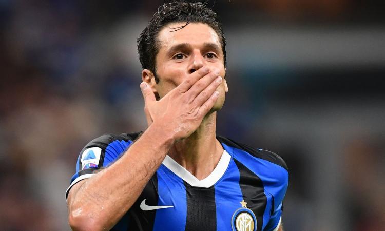 Inter: Conte è entrato nella testa di Candreva, ora può arrivare il rinnovo