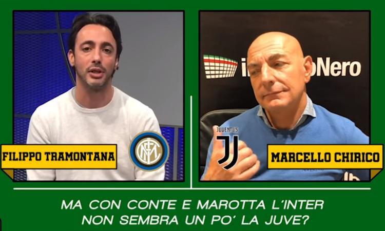 Inter-Juve, il CM duel Tramontana vs Chirico: 'Sarri? Meglio Conte'. 'Ma che insulti prima! Prescritti e incoerenti'