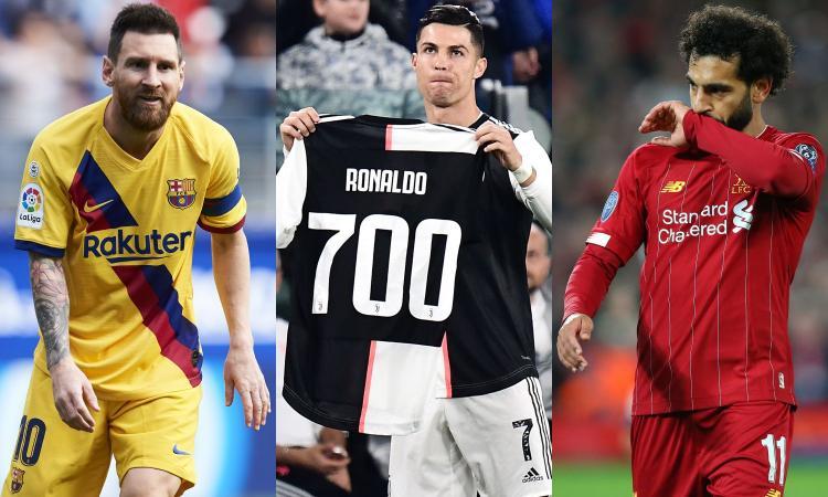 Da Messi e Ronaldo a Salah e Van Dijk, chi vincerà il Pallone d'Oro? VOTA