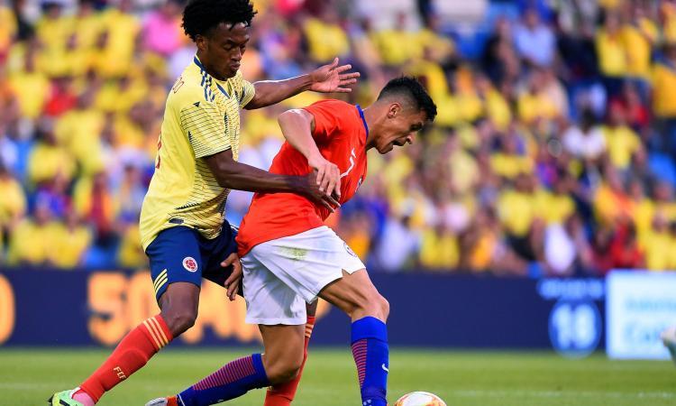 Inter: Alexis Sanchez infortunato, ko in nazionale pure Medel e Duvan Zapata
