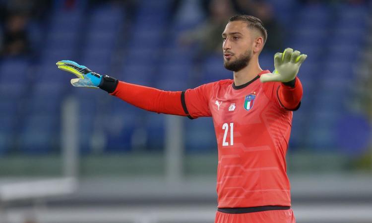 Italia, Donnarumma: 'Mancini un grande, vittoria per i tifosi'