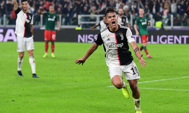 Dybala rilancia la Juve: rimonta 2-1 con la Lokomotiv Mosca e ottavi a un passo