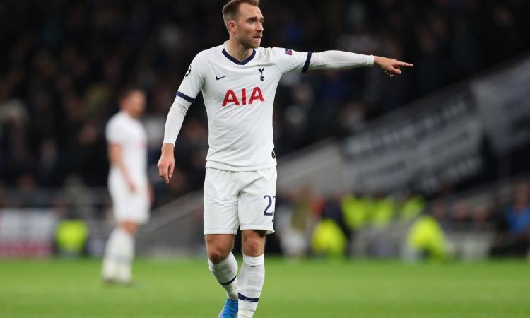 L'Inter ha in pugno Eriksen: l'agente in missione per convincere il Tottenham a liberarlo a gennaio