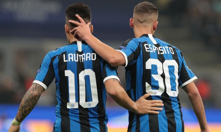Intermania, che Lautaro con Esposito! E che cambio da Icardi a Lukaku...