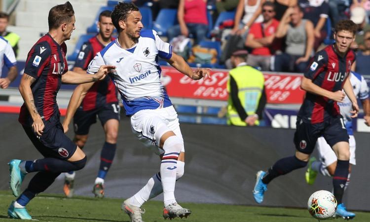 Contro il tabù Bologna non è bastata la scossa di Ranieri: Samp, col Lecce sarà spareggio salvezza