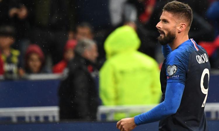 Inter, si complica Giroud: ecco perché