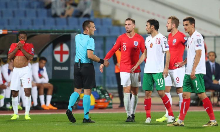 Razzismo, l'Uefa verso l'apertura di un'indagine su Bulgaria-Inghilterra