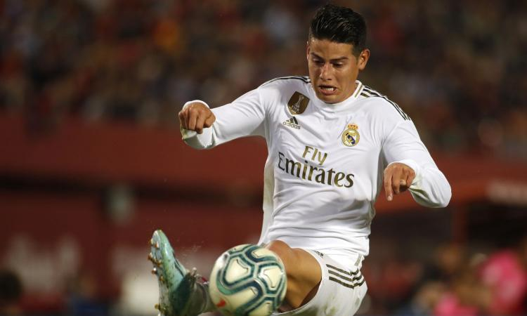 Real Madrid, quanto sta fuori James