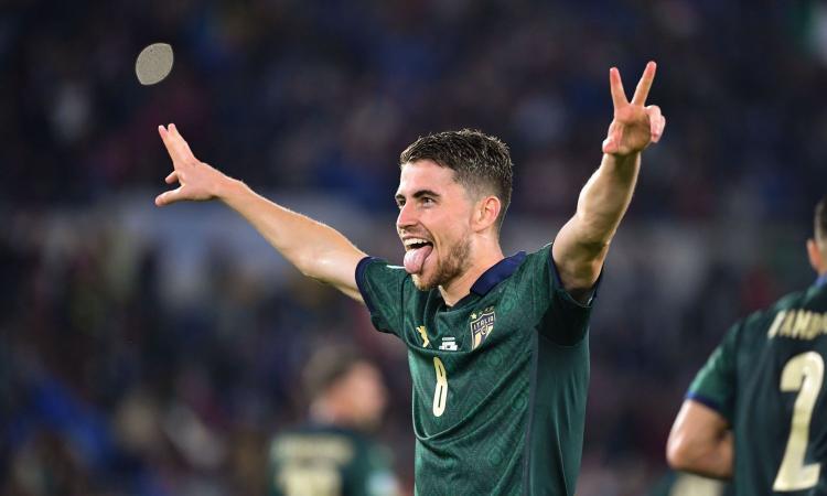 Italia qualificata da prima a Euro2020! Jorginho-Bernardeschi: 2-0 alla Grecia