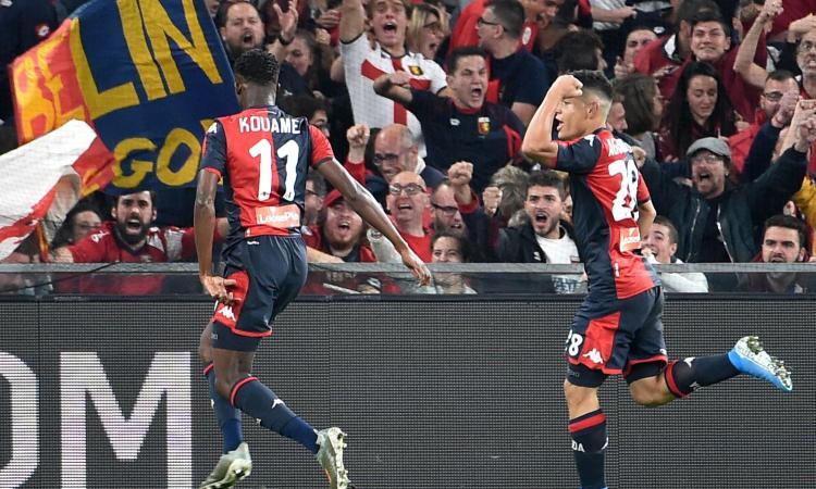 Genoa, per l'Inter Kouame è solo una seconda scelta