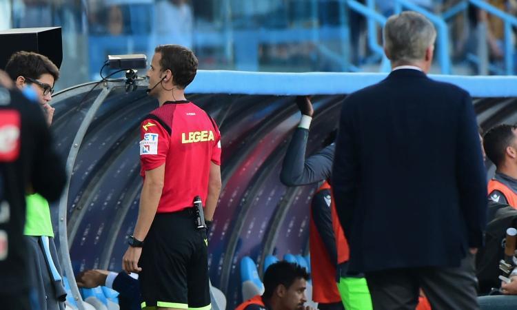 Arbitri Serie A: La Penna per la Juve, Irrati a Inter-Spal. Tutte le designazioni