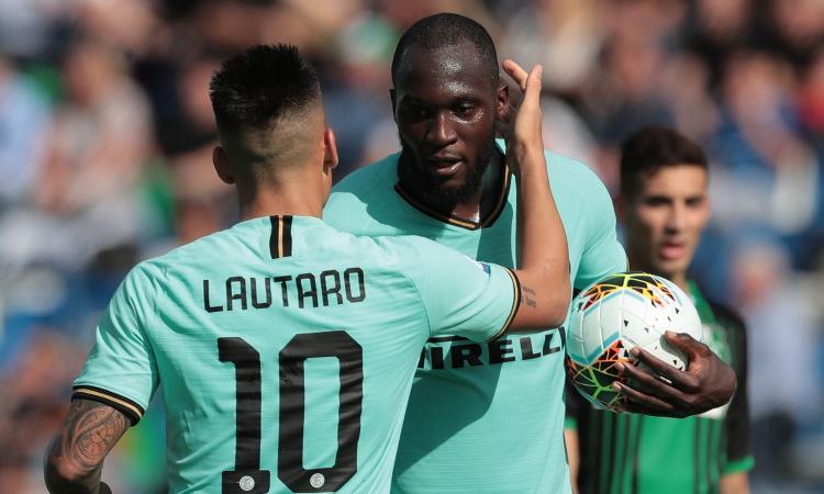 Inter, Conte può sorridere: Lukaku e Lautaro funzionano insieme