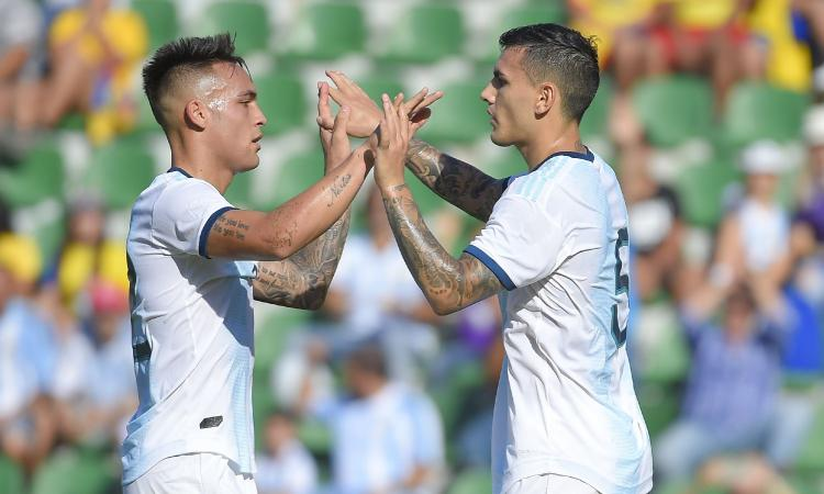 Paredes-Lautaro diverbio in nazionale, il centrocampista: 'Voleva calciare il rigore, non è successo nulla'