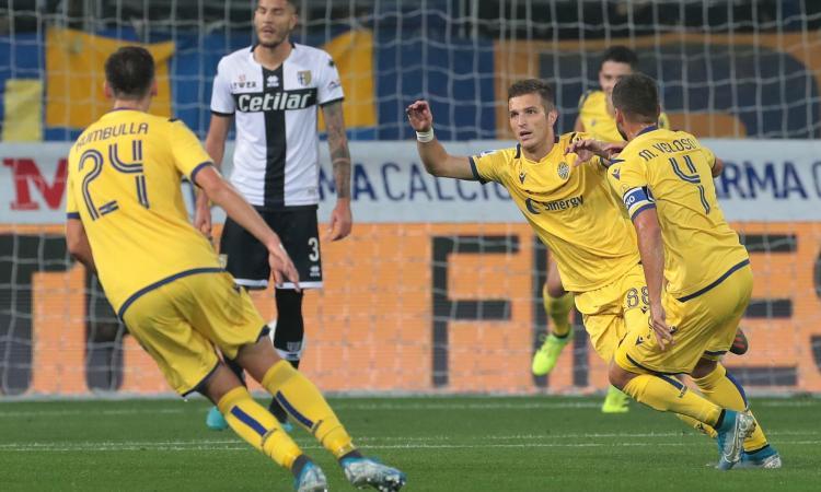 Colpo Verona: 1-0 a Parma, magia di Lazovic