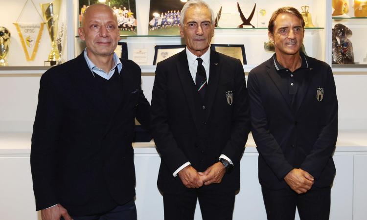 Gravina la mente, Mancini il braccio: l'Italia è tornata bella e ha un'anima