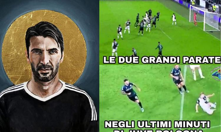 Da 'San Gigi' a 'Amputate le braccia di De Ligt': FOTO e Meme di Juve-Bologna