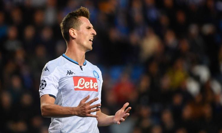 Genk-Napoli, le pagelle di CM: Milik sbaglia tutto, Meret salva gli azzurri