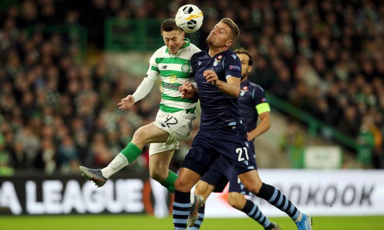 Celtic-Lazio 2-1: il tabellino