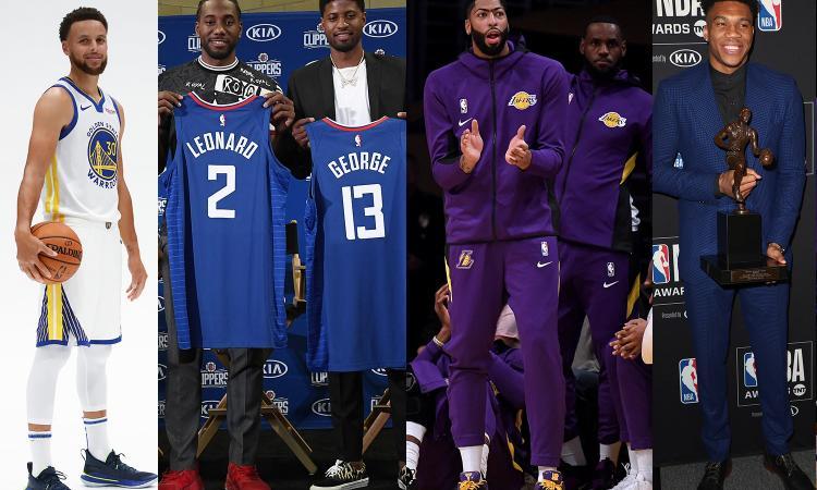 Riparte l'NBA. LeBron-Davis, Leonard-George, poi Curry e Antetokounmpo: caccia al trono di Toronto
