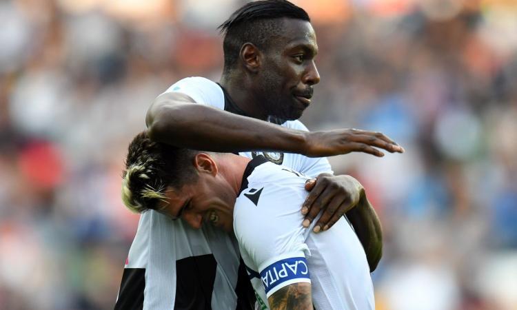 Genoa-Udinese 1-3: il tabellino