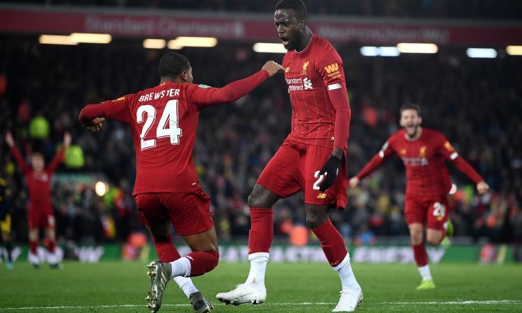 Liverpool-Genk, le formazioni ufficiali: Origi con Salah, gioca Berge