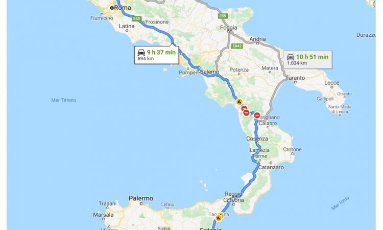 La folle corsa del Rieti: col pullman in Sicilia per giocare, 20 ore di viaggio in due giorni