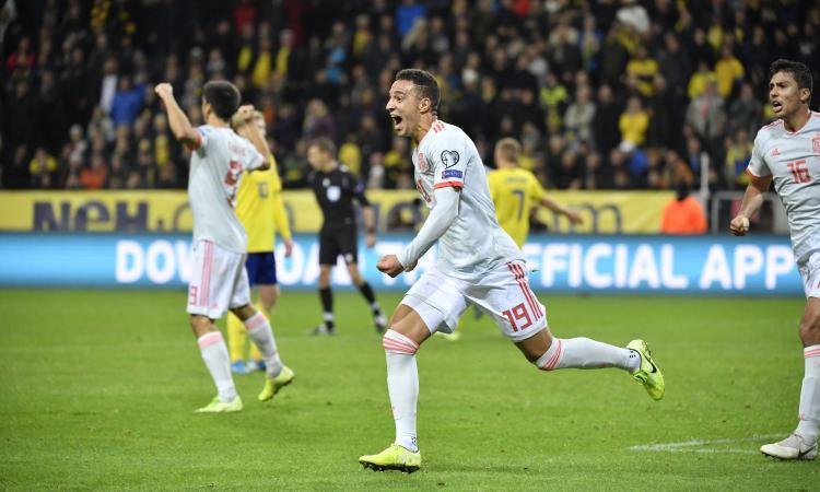 Euro 2020: tris Finlandia, Bosnia quasi fuori. Spagna qualificata in extremis. Vince la Svizzera
