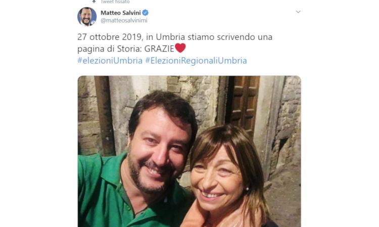 Elezioni Umbria, trionfa la Lega di Salvini: 'Il Milan ha perso e noi no, lo sapevo' VIDEO. Caso Financial Times per Conte