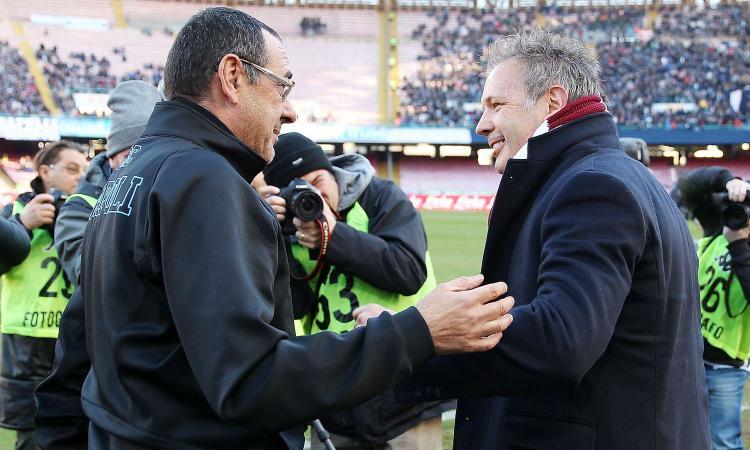 Da Vieri a Baggio e Montezemolo: un secolo di rivalità fra Juve e Bologna, ma per Mihajlovic...