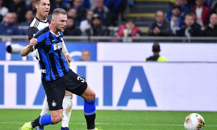Inter, Skriniar: 'Futuro? Sto bene qui. Lautaro-Lukaku, mai visti due così!'
