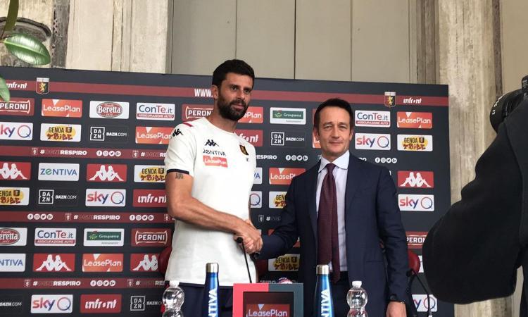 Genoa, Thiago Motta: 'Non so chi giocherà a Napoli. C'è possibilità per tutti' VIDEO
