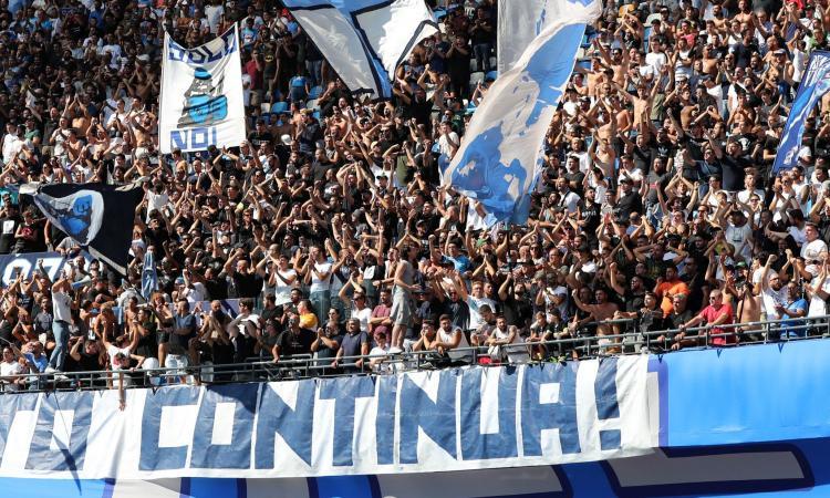 Napoli rischia di perdere il suo cuore: multe a raffica al 'Maradona' e si svuotano gli spalti
