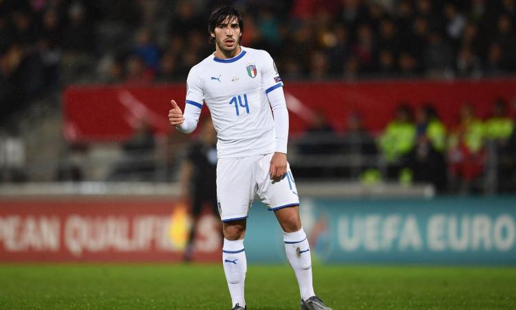 Italia, Tonali: 'Emozione bellissima! Io come Pirlo, Gattuso e De Rossi? Un mix sarebbe il top'
